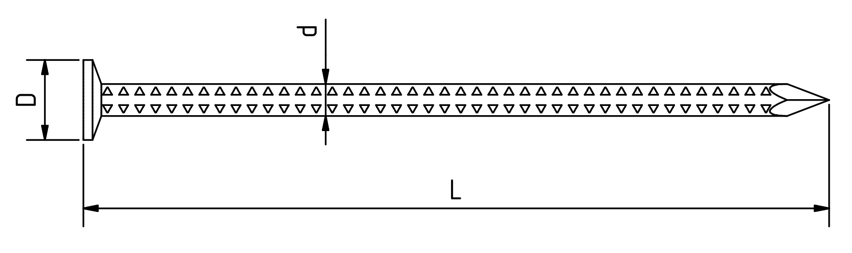 4.2_Maschinennägel-gerauter-Schaft-28x65